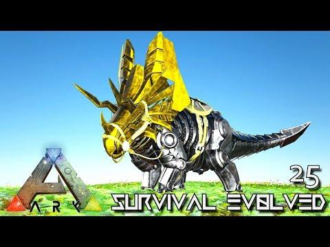 ARK: SURVIVAL EVOLVED - BUILDING NEW PRIMAL TEK DINOSAURS !!! | PRIMAL FEAR ISO CRYSTAL ISLES E25
