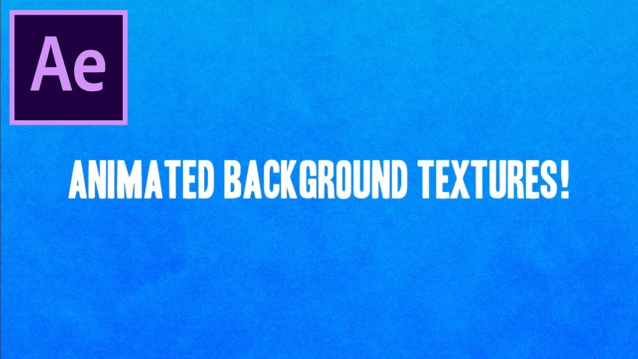 How to Create Animated Paper Texture Backgrounds in Adobe After Effects CC
