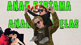 Anak PERTAMA VS Anak KESEBELAS - Draw My Life Song (React)