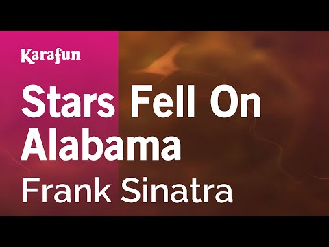 Karaoke Stars Fell On Alabama - Frank Sinatra *