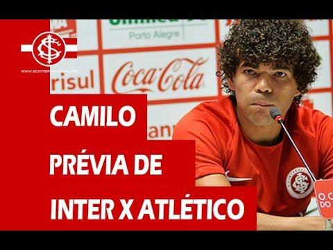 Camilo fala na prévia de Inter x Atlético-MG pela 1° Liga