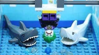Lego Shark Attack | Brick Creation 🔴43: Joker building Lego Dunk Tank
