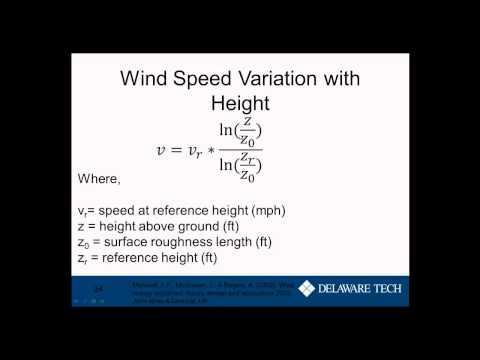 NRG154 Unit 3: Wind Energy