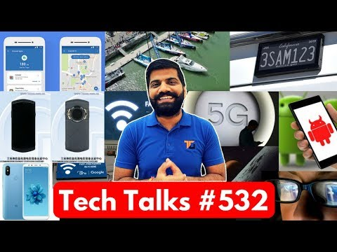 Tech Talks #532 - Samsung Folding Phone, Mi A2, 5G in India, Android Malware, PayTM Inbox, Mi Router