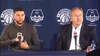 Austin Rivers Washington Wizards Press Conference