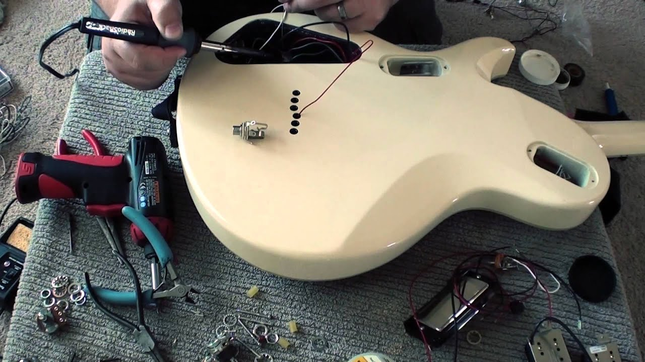 How To Change Passive Active Pickups Youtube Dean Vendetta Wiring Schematic For