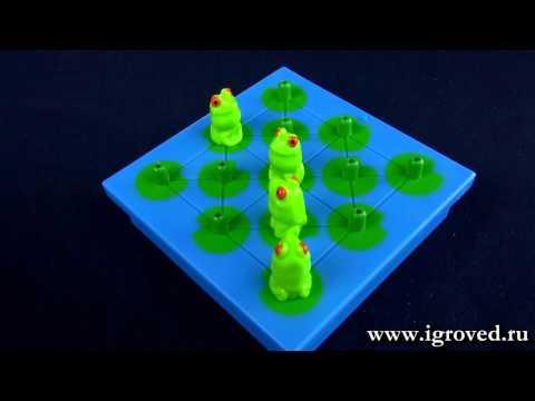 Лягушки-непоседы. Обзор настольной игры-головоломки от Игроведа