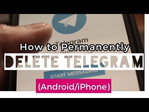 Delete Telegram Account: How to Delete Permanently (Android