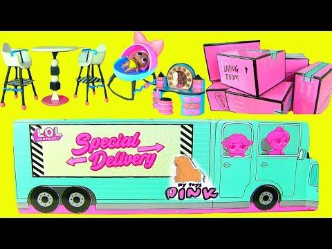 ДОМИК для кукол ЛОЛ! Часть 2! LOL SURPRISE BABY DOLL HOUSE! Игрушки с Май Тойс Пинк Kids Video