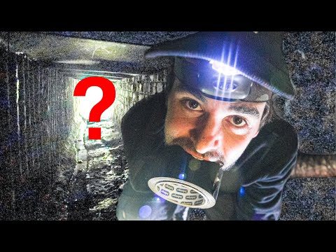 FOUND Secret Abandoned Government Tunnel Beneath My Factory
