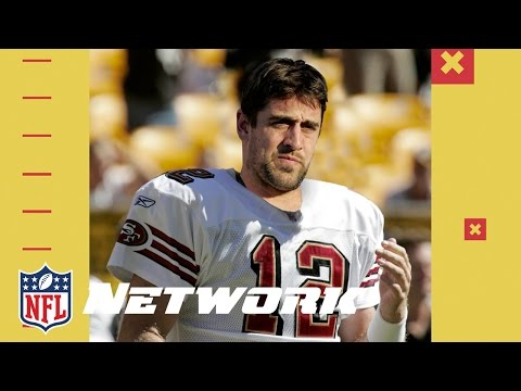 What if Aaron Rodgers was drafted by the 49ers No. 1? | Good Morning Football | NFL Network
