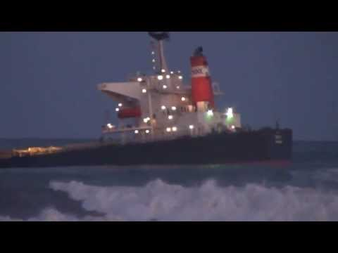 Ship sinking Richards Bay