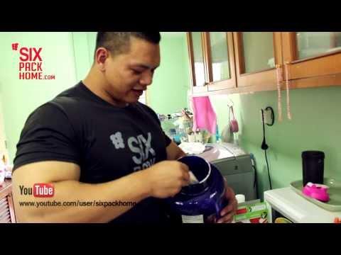 เมนูนักกล้าม อาหารเช้าอัดโปรตีน โดย โค้ชเดย์ กิตติศักดิ์ วุฒิการณ์ แชมป์เอเชีย