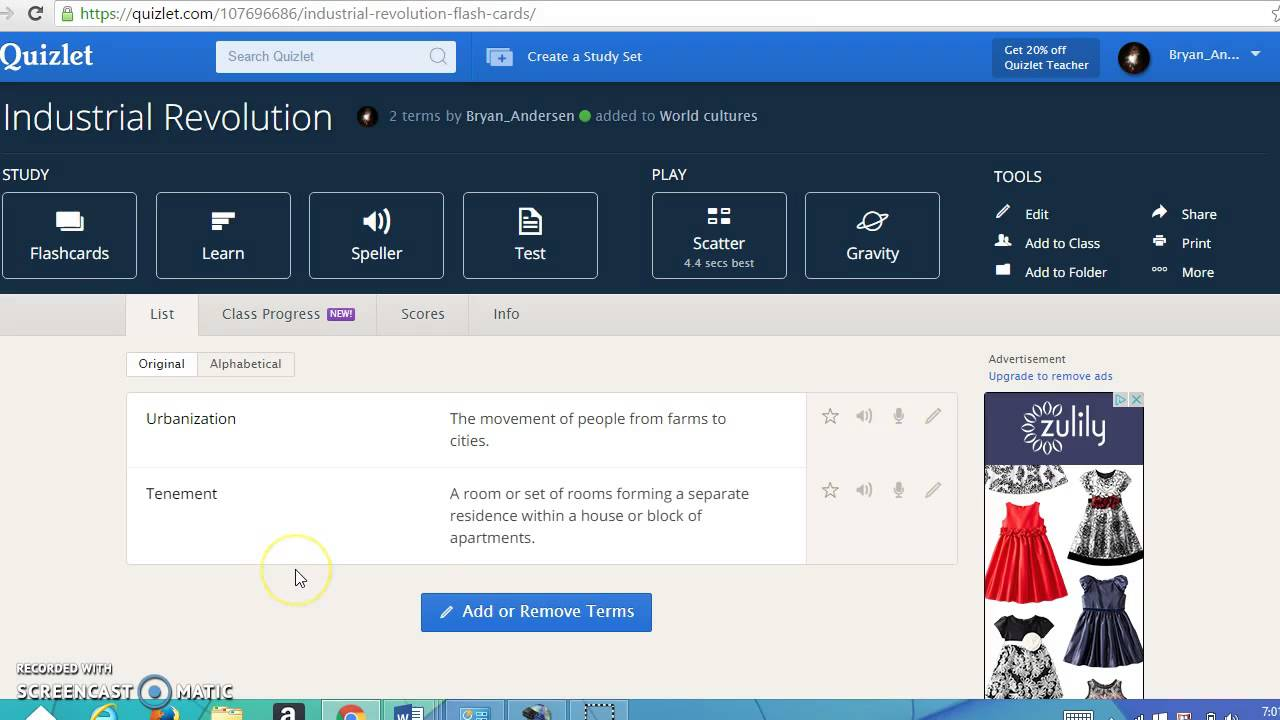 Quizlet Example Video - YouTube
