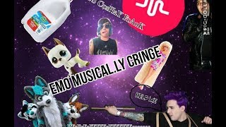 Emo Cringe Musical.ly Challenge for CrankThatFrank (furryees, lps, dolls, roblox, and cosplay)