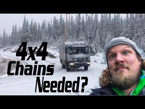 Scary Overland snow drive with winter hike in Canada ► | LiveandGive4x4