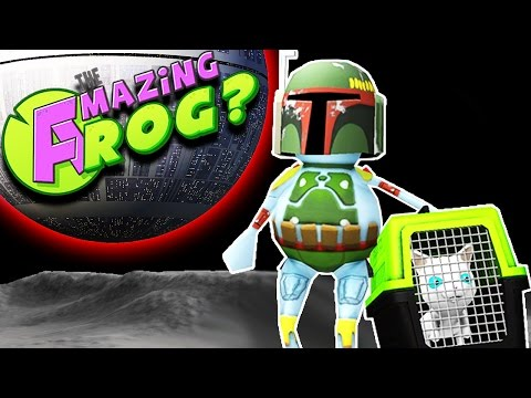 BOBA FETT JETPACK & ALL SPACE CATS!! || Let's Play Amazing Frog Funny Moments/Funny Gameplay Part 18
