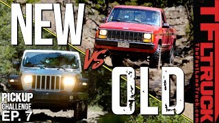 How Much Has Off-Road Tech IMPROVED over 30 Years? | Cheap Jeep Pickup Challenge Ep.7