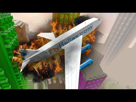 Крушение САМОЛЕТА - (Minecraft - Сериал)