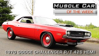 Muscle Car Of The Week Video Episode #164: 1970 Dodge Challenger R/T 426 Hemi N94 Hood