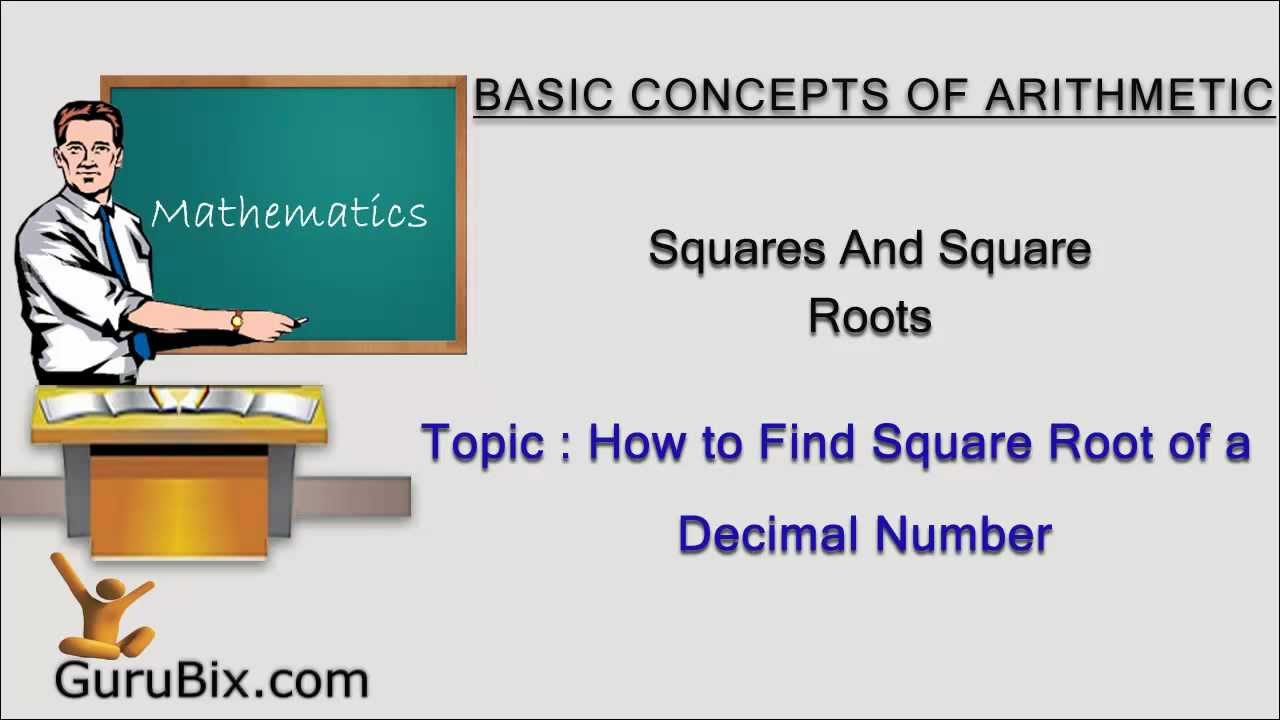 how to work out the square root of 256