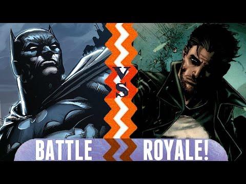 Batman vs. Punisher   Battle Royale Episode 2   DC vs. Marvel