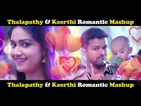 Bairavaa Pair Romantic Mashup HD | Thalapathy Vijay | Keerthi Suresh | thumbnail