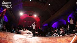 GROOVE'N'MOVE BATTLE 2015 - Tutting semi-final / Marco Alma vs Smoothie-H