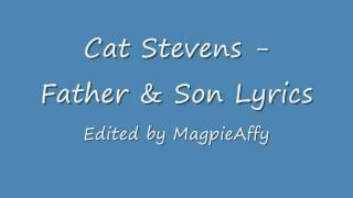 Video Cat Stevens - Father and Son Lyrics download MP3, 3GP, MP4, WEBM, AVI, FLV Maret 2017