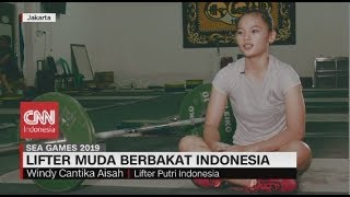 Perkenalkan Ini Windy Cantika Aisyah, Lifter Muda Berbakat Indonesia