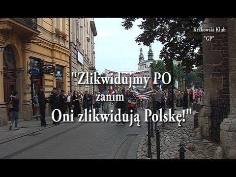"""""""Zakazane piosenki 2"""" Manifestacja w Krakowie."""