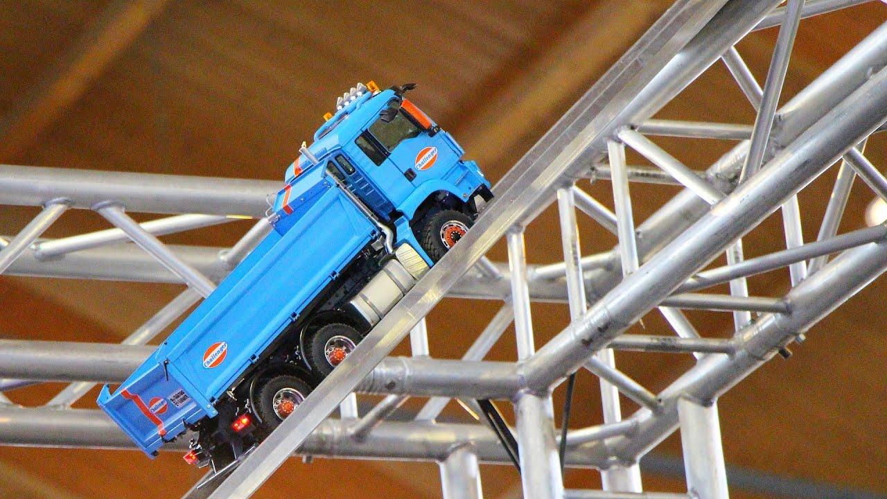 rc roadworker show sensation - faszination modellbau friedrichshafen