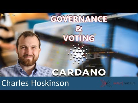 Cardano Q&A: How to implement governance and voting rights? - Charles Hoskinson IOHK