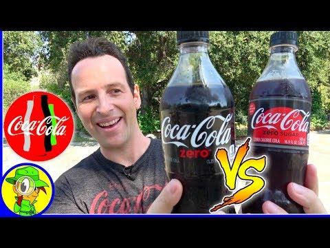 Coca-Cola® Zero Sugar Vs. Coke Zero™! 👊 🆚