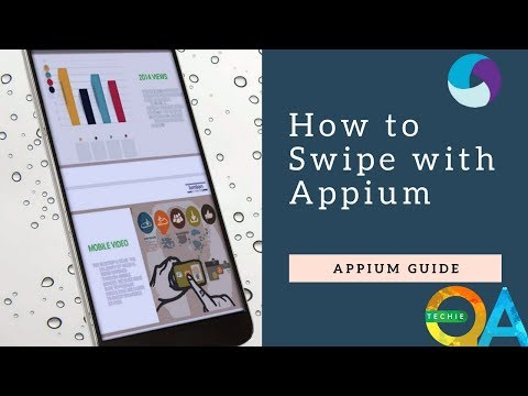 How To Swipe The Screen Using Appium(android Application )