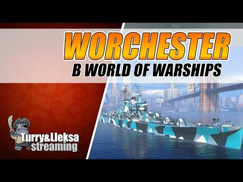 НОВАЯ ДЕСЯТКА США Worcester - ШЛАК ИЛИ ГОДНОТА ❓ World of Warships