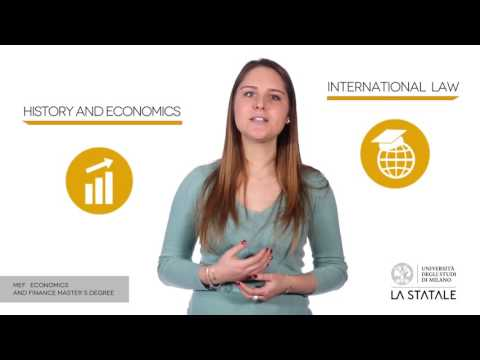 MEF - Master Degree Programme in Economics and Finance