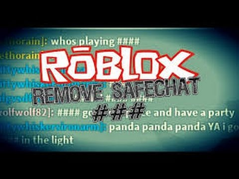 How to disable safe chat on roblox 2018