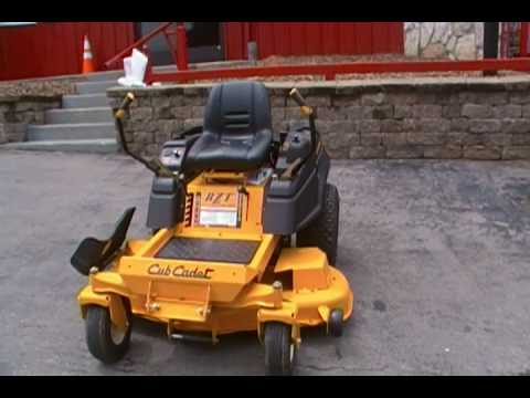 54 Quot Cub Cadet Zero Turn Lawn Mower 24 Hp Rzt 54 Youtube