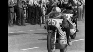 Jarno Saarinen in Imatra 1972 GP - pictures