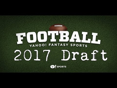 2017 Fantasy Football Draft (Yahoo) || The Angry Spud
