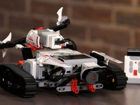Building a robot with Lego Mindstorms EV3