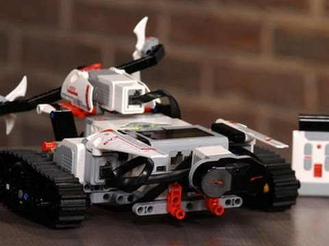 Building a robot with Lego Mindstorms EV3 - YouTube