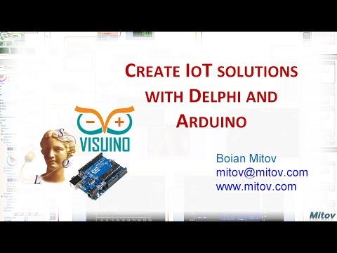 Intensive Delphi: Create IoT solutions with Delphi and Arduino