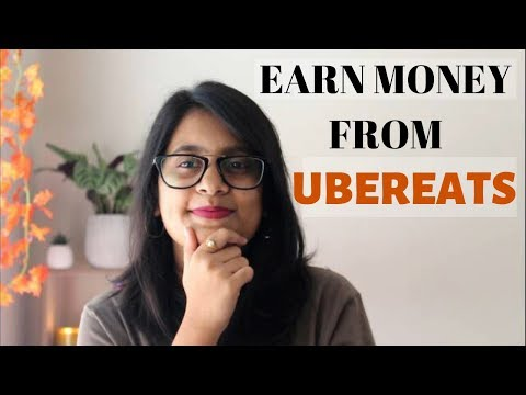 HOW TO EARN MONEY FROM UBER EATS AUSTRALIA