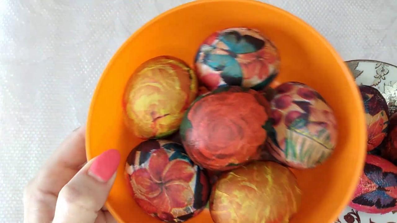 Как украсить яйца на Пасху без красителей БЕЗ ХИМИИ