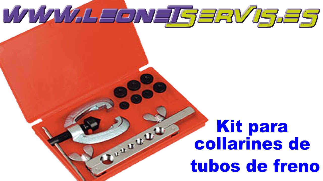 Kit para collarines de tubos de frenos youtube for Kit para toldos de enrollar