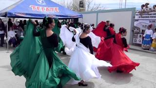 Bailable con Grupo de Danza de Rodeo Durango en el Casco .popurri mexicano  22-feb-2012.MOV
