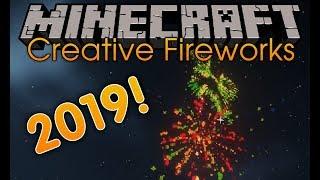 Creative Fireworks Mod for minecraft 1 12 2 Minecraft mods Happy New Year 2019