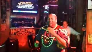 "Video Donna's Bar Karaoke: Chuck ""Piano Man"" download MP3, 3GP, MP4, WEBM, AVI, FLV Juli 2018"